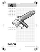Bosch 0 607 352 114 pagina 1