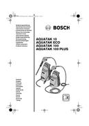 Bosch Aquatak 10 sivu 1