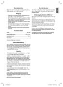 Página 3 do Clatronic RG 3090