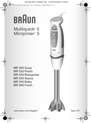 Braun MR 500 Soup side 1