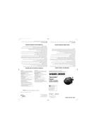 Black & Decker Spacemaker Gizmo EM150C sayfa 1