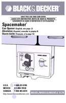 Black & Decker Spacemaker EC70 pagina 1
