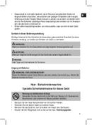 Página 5 do Clatronic HSM 3441 NE