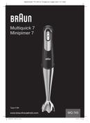 Braun Multiquick 7 MQ 745 Aperative pagina 1