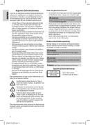 Página 4 do Clatronic SR 827