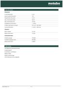 Metabo GB 18 LTX BL Q I Seite 2
