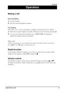 Página 5 do Doro PhoneEasy 312c