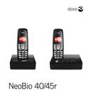 Doro NeoBio 40 страница 1