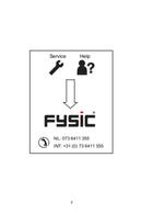 Pagina 2 del Fysic FX-3100