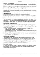 Página 5 do Doro PhoneEasy 327cr