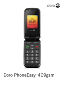 Página 1 do Doro PhoneEasy 409gsm