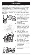 Página 5 do Doro ProSound hs1910dect