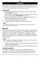 Página 4 do Doro Secure 350