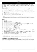 Página 3 do Doro Comfort 3000