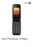 Página 1 do Doro PhoneEasy 409 S gsm