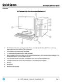 HP 8200 Microtower page 3