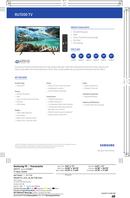 Página 1 do Samsung UN55RU7200