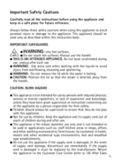Cuisinart CPK17SU страница 5