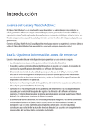 página del Samsung Galaxy Watch Active 2 5