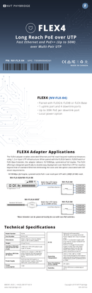 Phybridge NV-FLX-04-XKIT sayfa 1