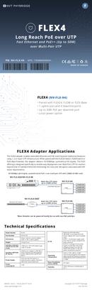 Phybridge NV-FLX-04-XKIT страница 1