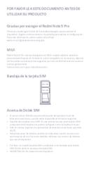 página del Xiaomi Redmi Note 9 Pro 3