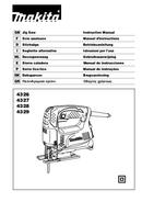 Makita 4329 side 1