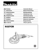 Makita 9227CB side 1