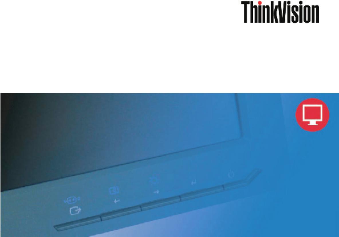 Lenovo ThinkVision L2250p manual