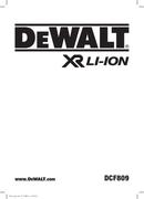 DeWalt DCF809 page 1