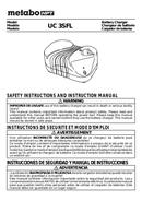 Metabo UC 3SFL Seite 1