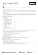 Pagina 3 del Thule Omnistor 8000