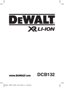DeWalt DCB132 page 1