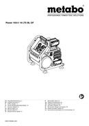Metabo Power 160-5 18 LTX BL OF Seite 1
