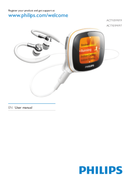 Philips Activa ACT101M page 1