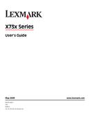 Lexmark X738dte side 1