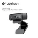 Logitech HD Pro C920 страница 1