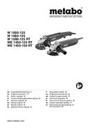 Metabo W 1080-115 Seite 1