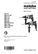 Metabo SBE 900 Impuls Seite 1