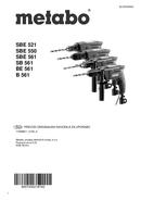 Metabo SB 561 Seite 1