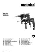 Metabo SBE 760 Seite 1