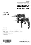 Metabo SB 760 Seite 1