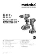 Metabo PowerMaxx SB 12 BL Seite 1