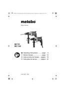 Metabo BE 1100 Seite 1