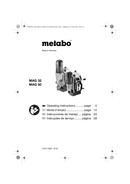Metabo MAG 50 Seite 1