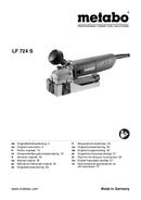 Metabo LF 724 S Seite 1