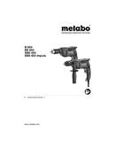 Metabo B 650 Seite 1