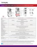 Lexmark MX812dxme side 2