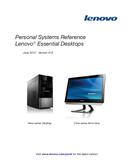 Página 1 do Lenovo Essential C200