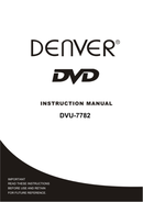 Denver DVU-7782 side 1